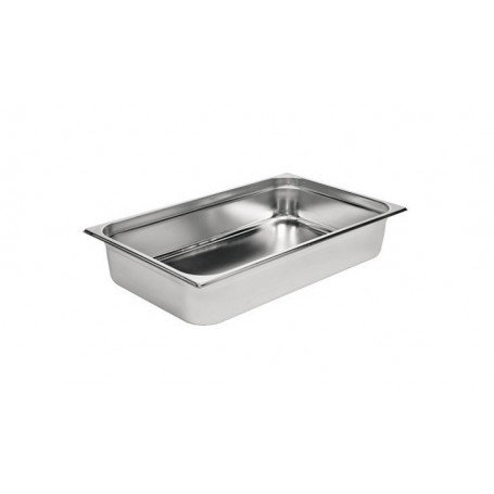 Bac Gastronorme Inox GN 1/1 530 x 325 Hauteur 100 mm