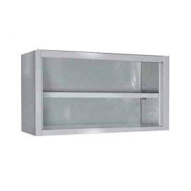 PLACARD INOX MURAL OUVERT 1200 X 400 X 650 MM - SPG12CX