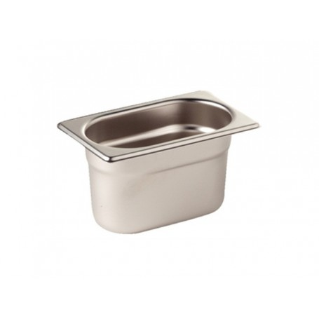 Bac inox alimentaire gastronorme GN 1/9 - BA19100
