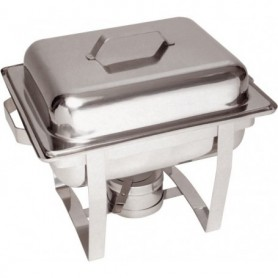 Chafing dish GN1/2 pour gel combustible 500481