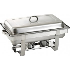 Chafing dish GN1/1 pour gel combustible 500482
