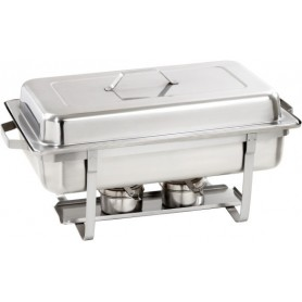 Chafing dish GN1/1 pour gel combustible 500494