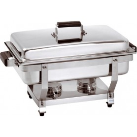 Chafing dish GN1/1 profondeur 65 mm pour gel combustible 500456