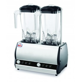 Mixer Blender super professionnel ORIONE 2Q VV 2 cuves de 2 litres pour Cocktails-bars, restaurants, etc...