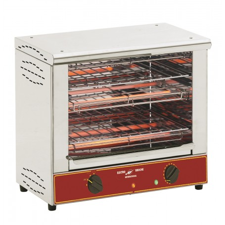 """Toaster infra-rouge professionnel """"BAR GRILL"""" 2 Niveaux TO1001"""