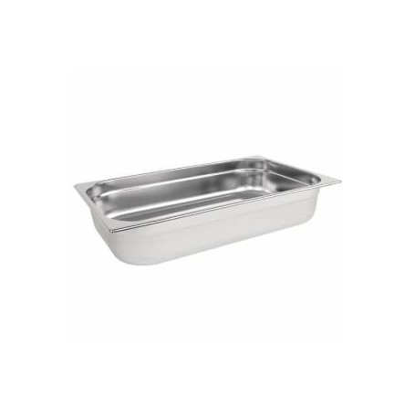 Bac inox alimentaire Gastronorm GN2/1 - BA21020